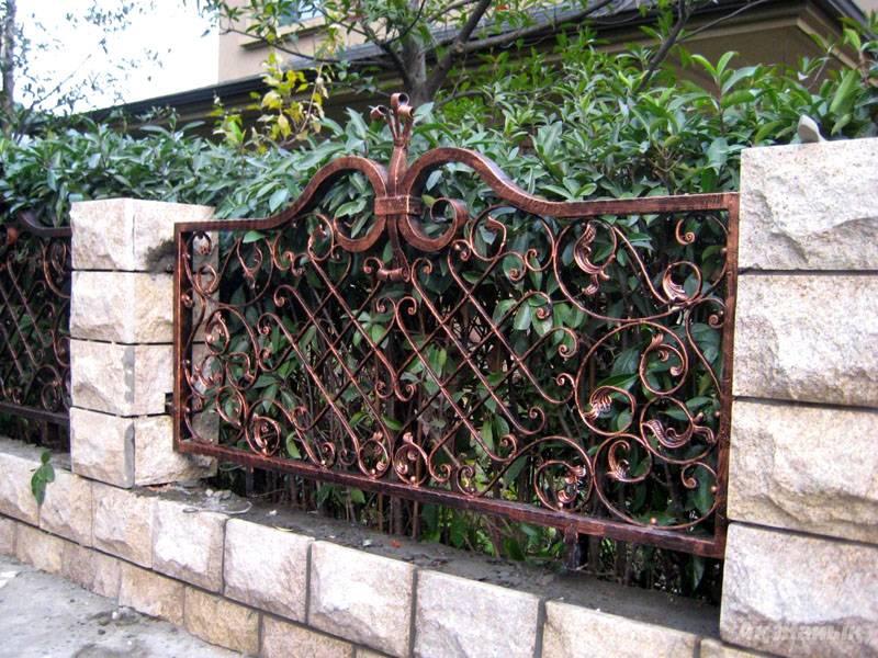 Кованые ограды – это красота и изысканность