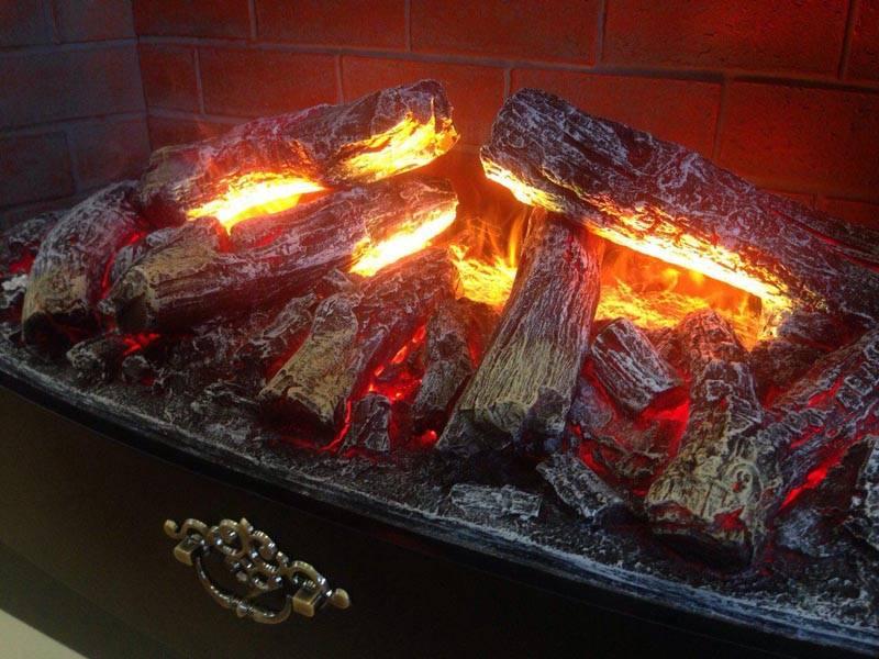 Камин электрический с эффектом пламени своими руками 6
