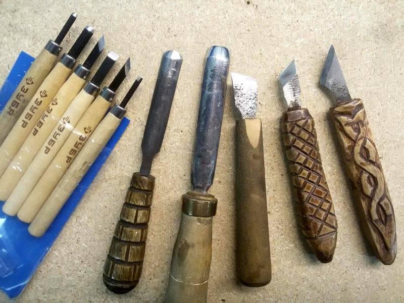 Как сделать инструменты для резьбы по дереву