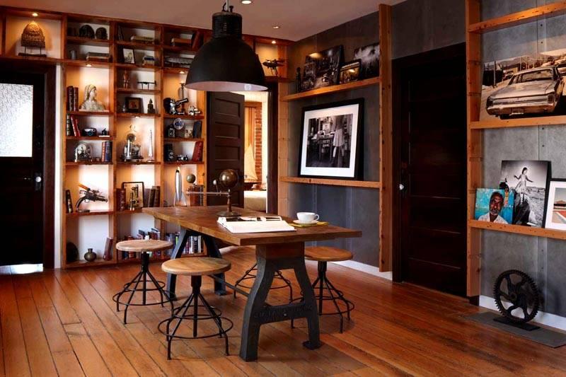 Прочная и открытая мебель