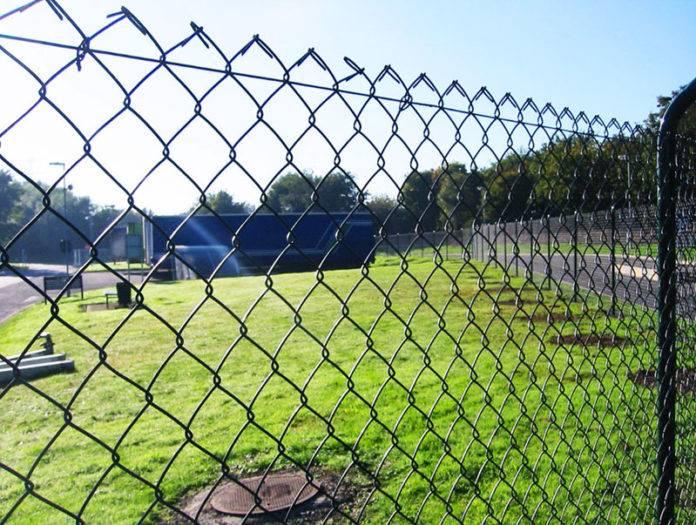 Забор для дачи из сетки