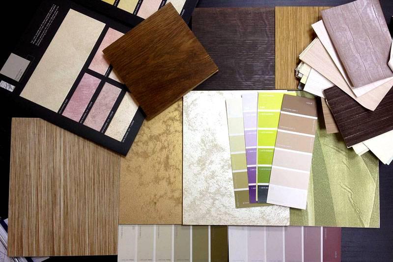 Уделите внимание выбору материалов и фактур. При этом нужно правильно подобрать цветовую гамму