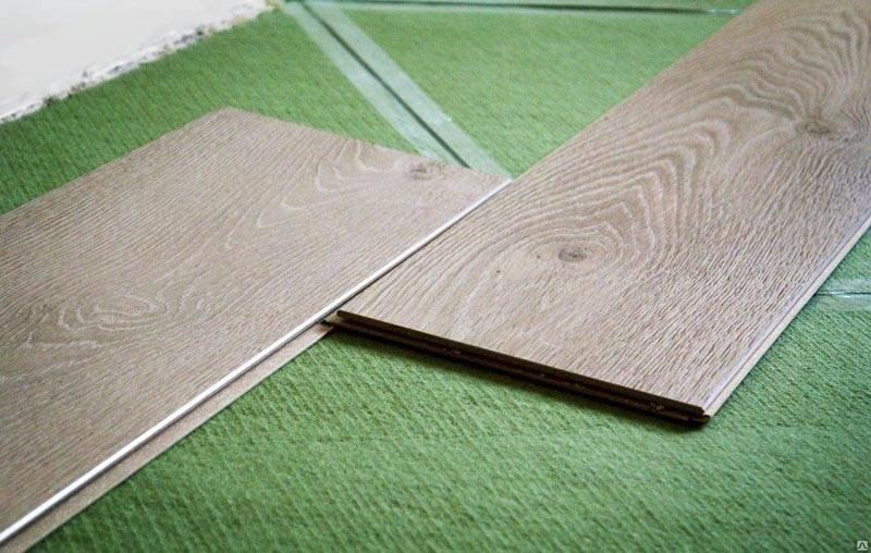 Вариант укладки на зеленое покрытие