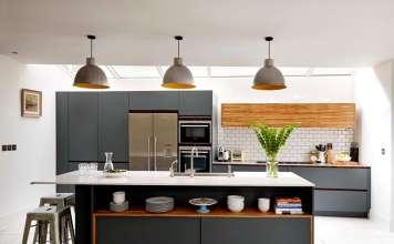 Интерьер кухни – современные идеи 2017, фото