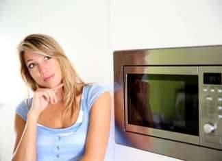 Как в домашних условиях почистить микроволновку
