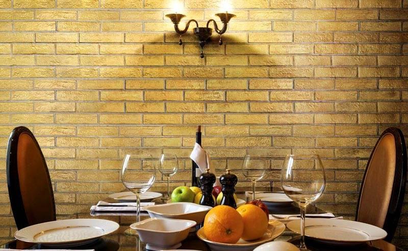 Нестандартный цвет в ресторане или столовой