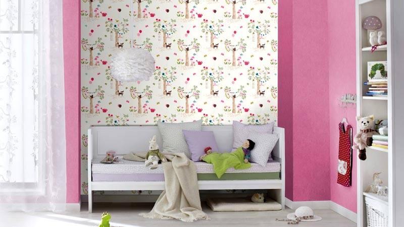 Розовые стены очень популярны