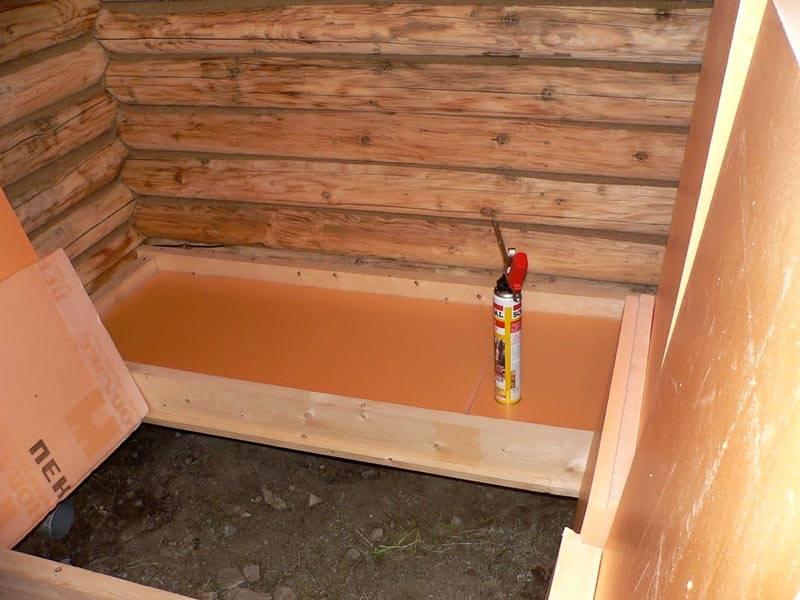Благодаря высокой влагостойкости, данный материал можно использовать в любых помещениях, например, в бане