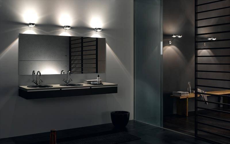 Пример недостаточного освещения в ванной комнате