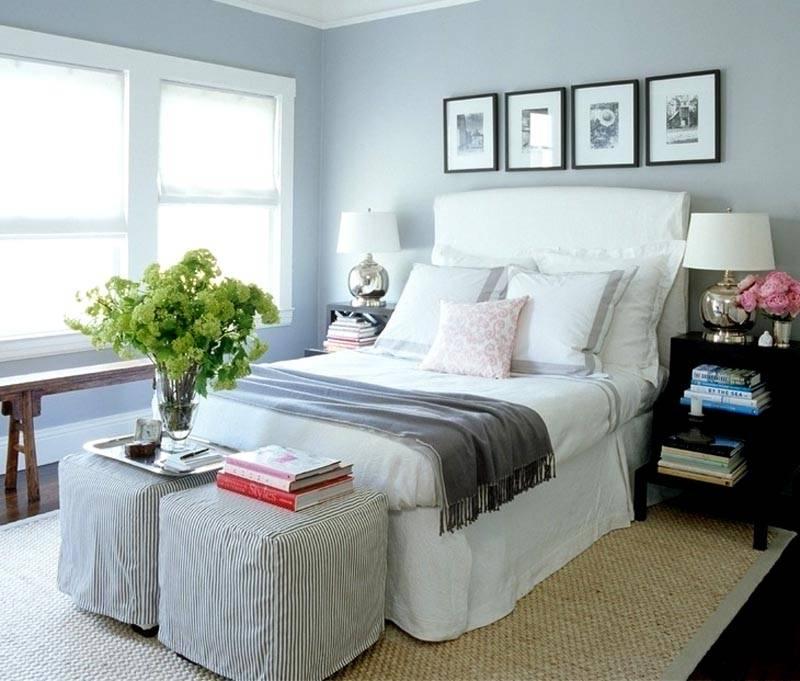 Оформление небольшой спальной комнаты