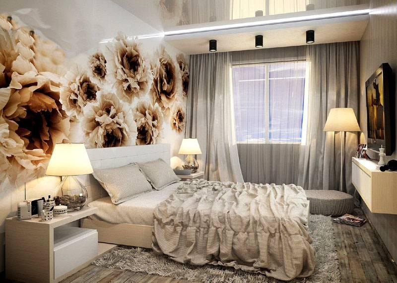 Материалы для ремонта в спальной