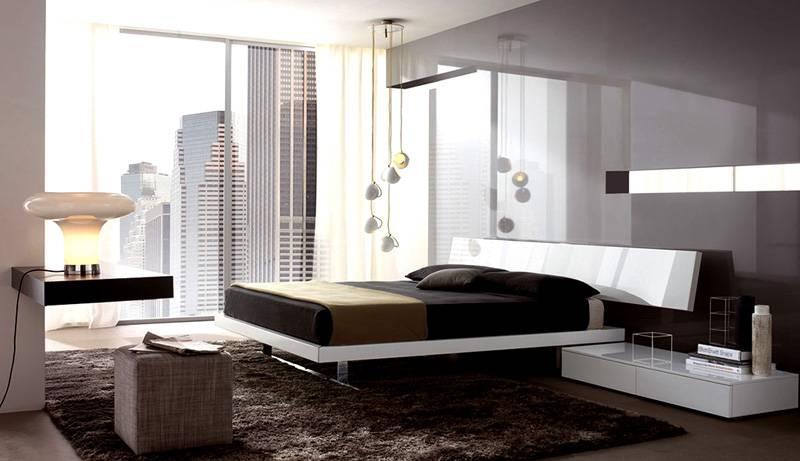 Модная, современная спальня