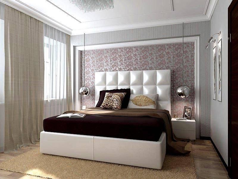 Оформление спальни в 3-комнатной квартире