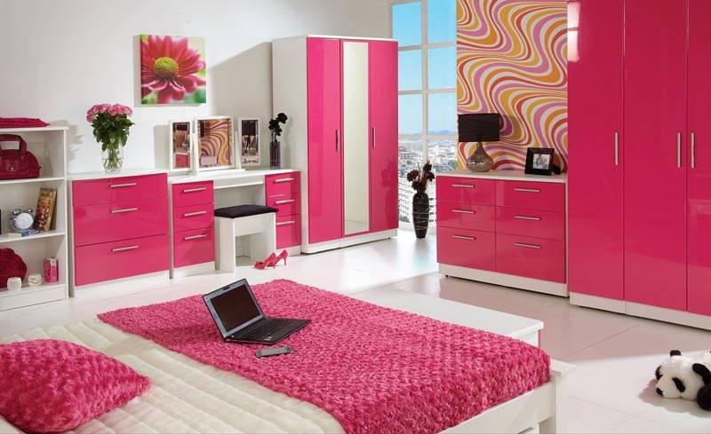 «Розовая» спальня