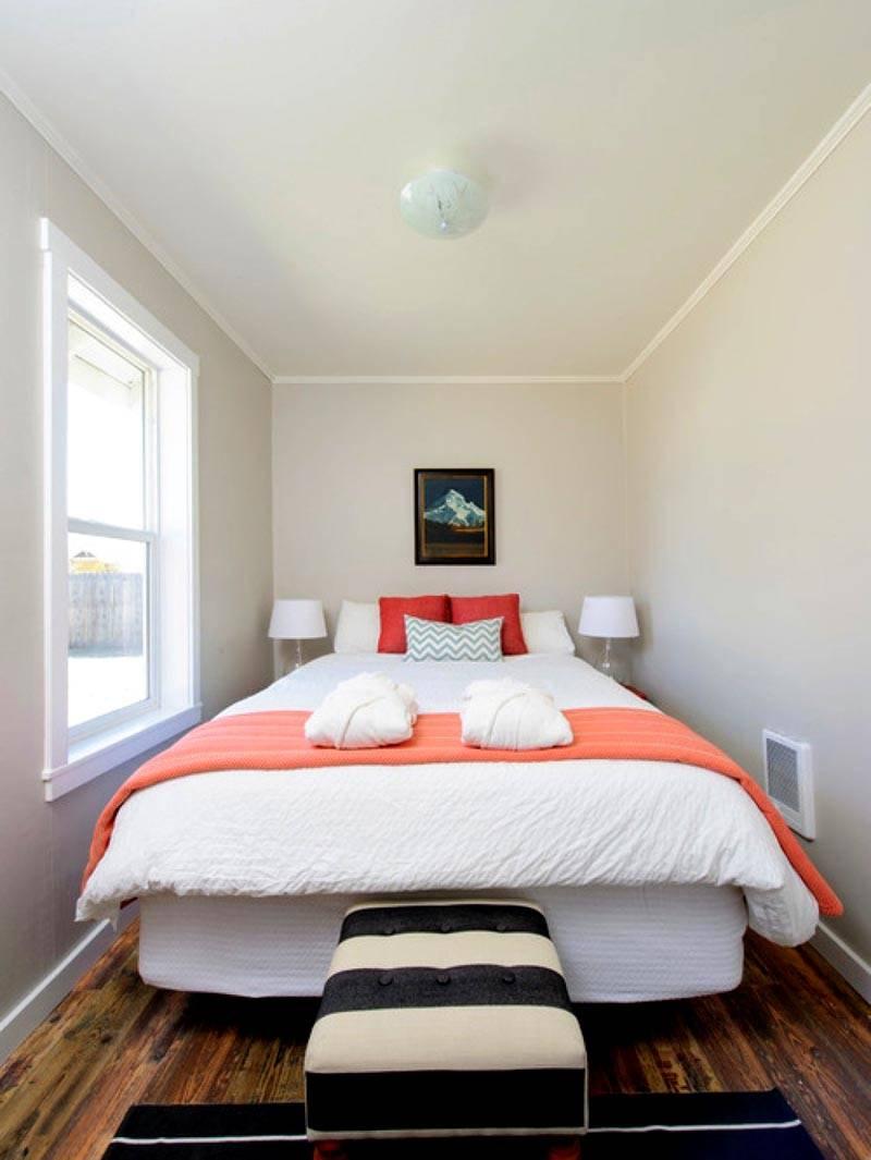 Дизайн и оформление малогабаритной спальни