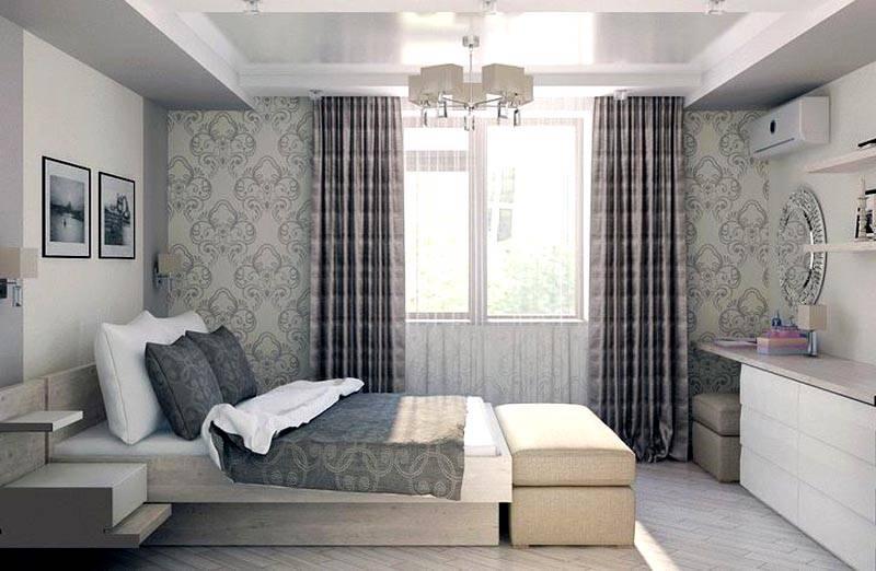 Гармония и покой в спальной комнате