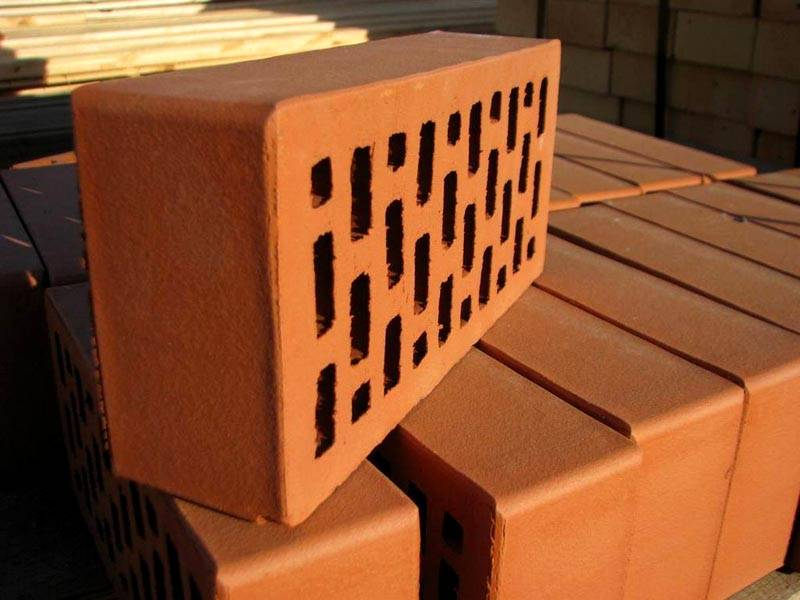 Декоративный кирпич, с поверхностью под бархат