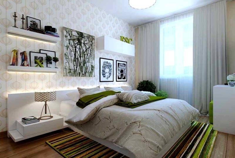 Уютная спальня на малых квадратах