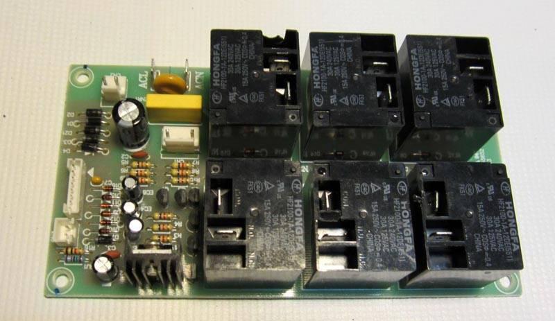 Электронный модуль управления бойлером – это он его включает и выключает