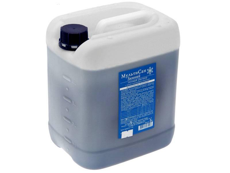 Жидкость для биотуалетов, уничтожающая бактерии и запах