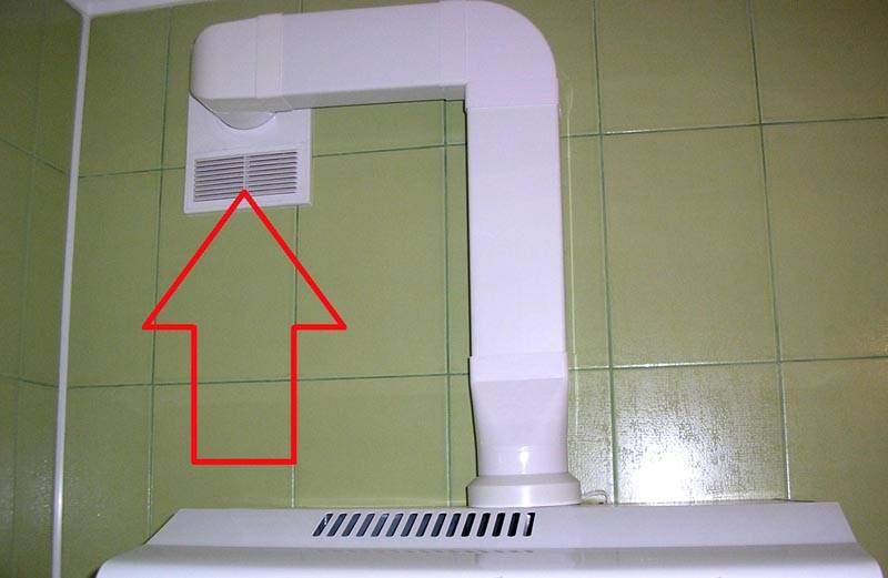 Универсальная решетка для подключения вытяжки и естественной вентиляции к одному каналу