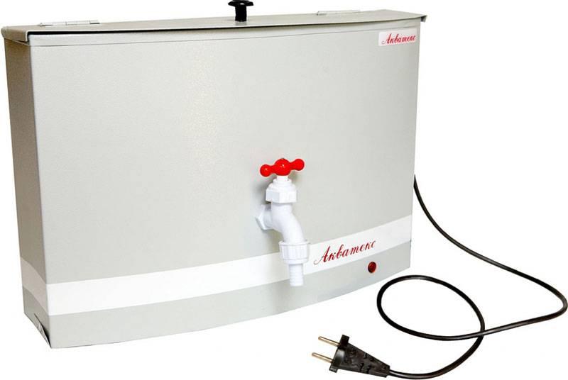 Удачное решение для водонагревателя на дачу
