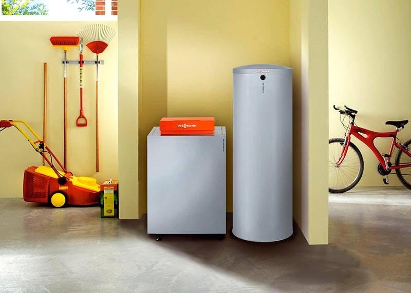 Для повышения производительности системы горячего водоснабжения, это оборудование дополняют бойлером нужной емкости