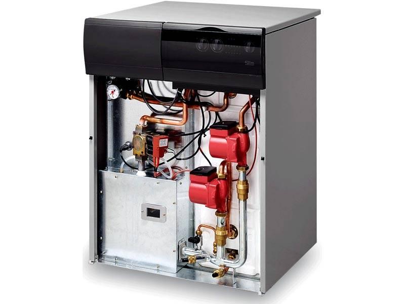 Газовый котел Baxi Slim 2300Fi со встроенным бойлером.Встроенная система диагностики оповещает пользователя о выявленных неисправностях. Она контролирует механические и электронные части оборудования