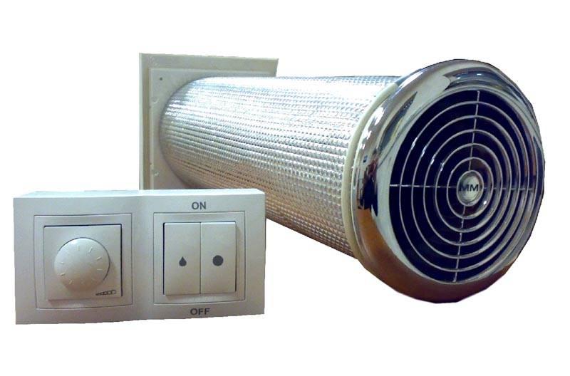Достаточно дорогое, но при этом эффективное устройство для подачи и нагрева воздуха