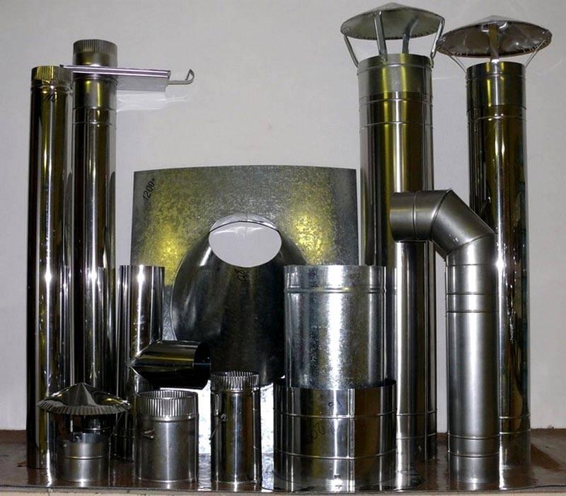 Сэндвич-трубы и материалы для установки