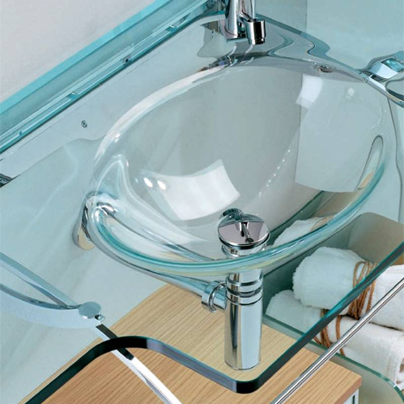 Стеклянная столешница – стильный элемент интерьера