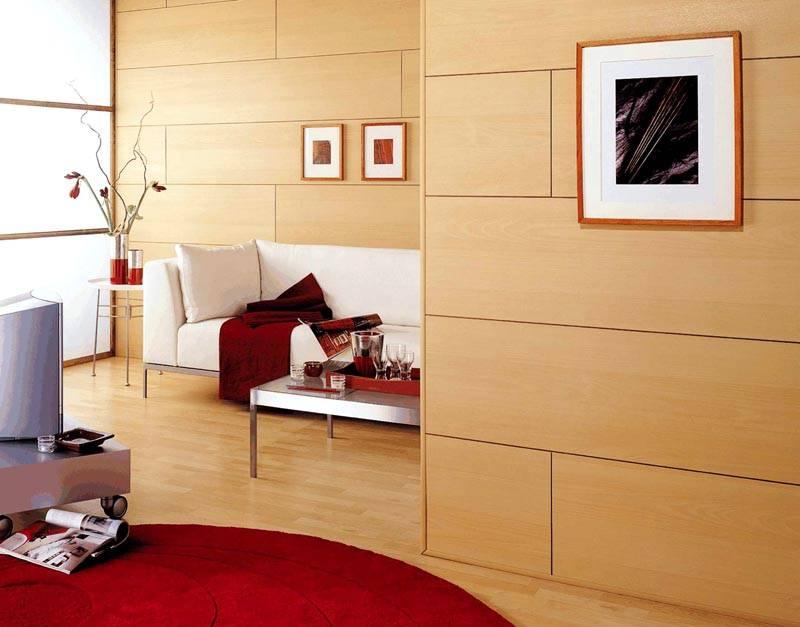 Изделия из МДФ помогут оформить стены под натуральное дерево