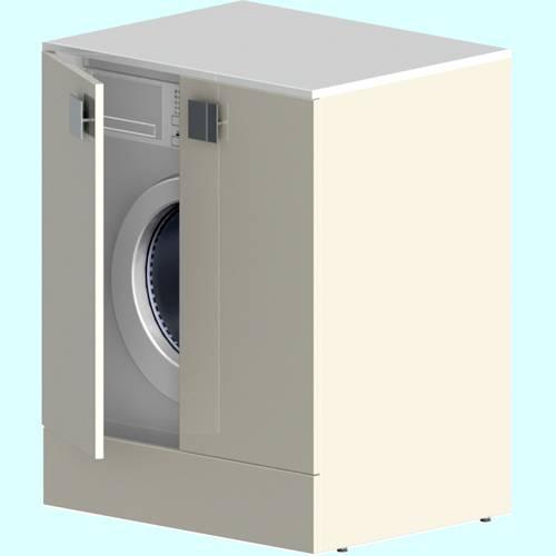 Стиральная машинка под раковину: преимущества, популярные модели, особенности монтажа