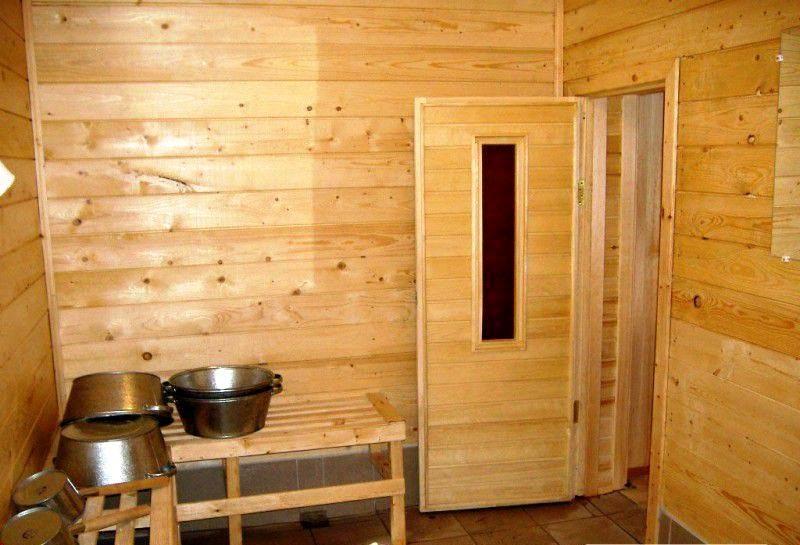Вентилирование моечной комнаты избавит от излишней сырости и убережет дерево от гниения