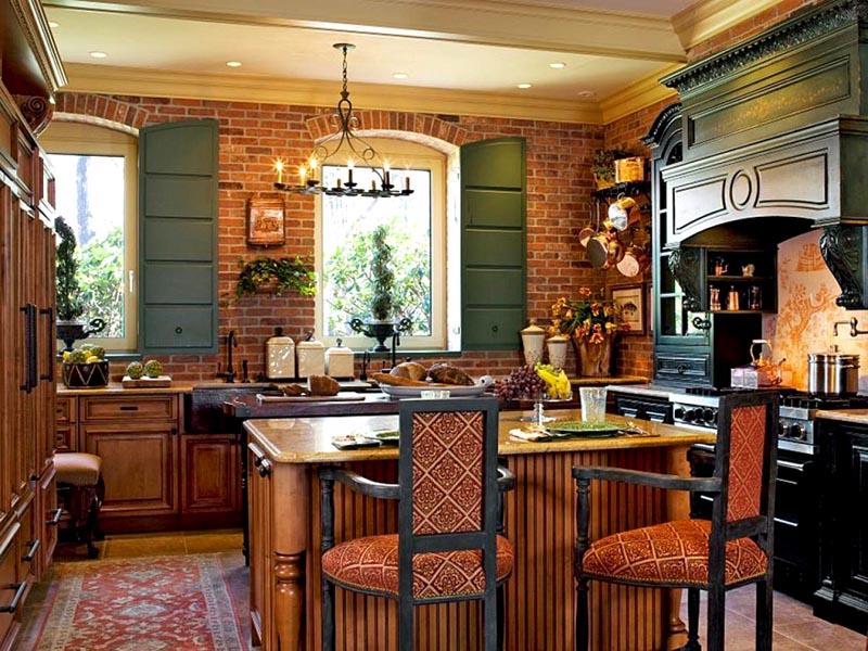 Кантри на кухне