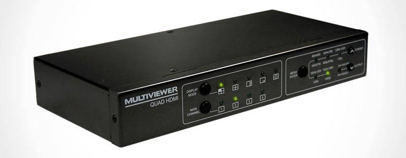 Квадартор потребуется, если в видеорегистраторе нет функции вывода нескольких картинок на монитор одновременно