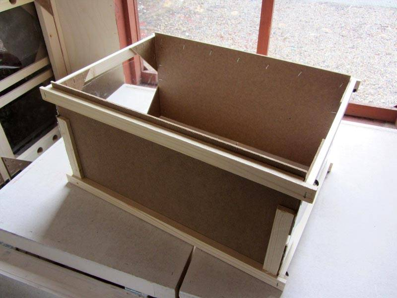 Кассетный улей – в таком ящике предлагается жить пчеле