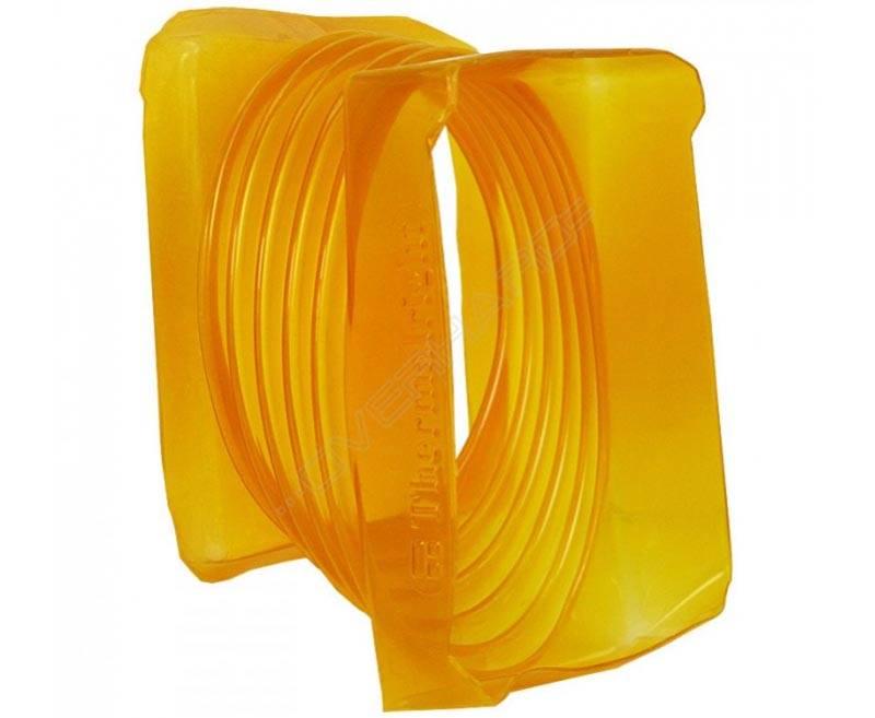 Эластичный корпус не перелает вибрации, поэтому его можно использовать в комбинации с электрическим вентилятором