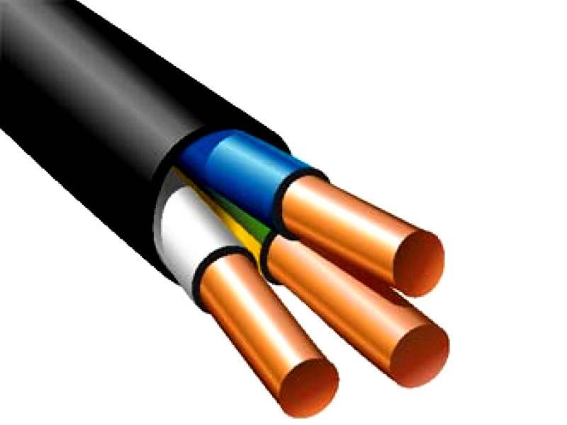 Подходящий кабель для проводки в деревянном доме – серия ВВГ («винил-винил-голый»)