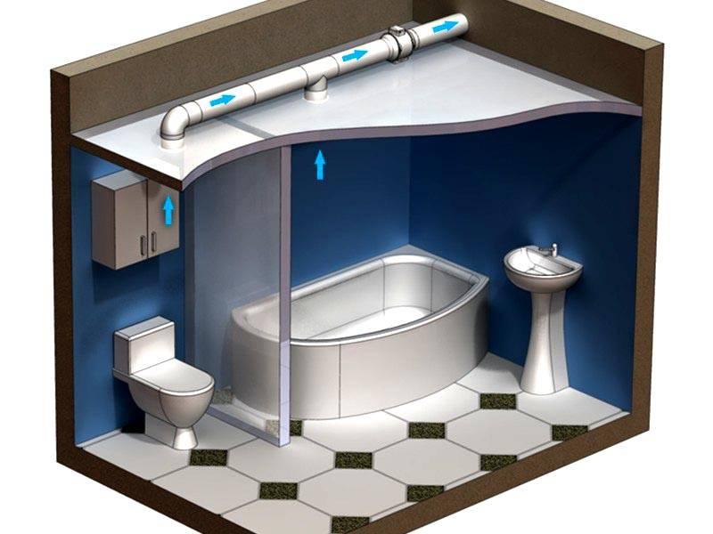 В душе, ванной комнате, туалете пластиковые трубы для вентиляции будут выполнять свои функции безупречно долгое время. Они не подвержены разрушительному воздействию коррозийных процессов