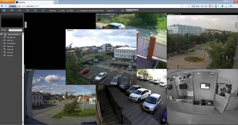 Подобные системы передают картинку с высоким качеством изображения, что значительно упрощает идентификацию