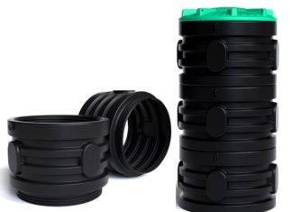 Пластиковые колодезные кольца