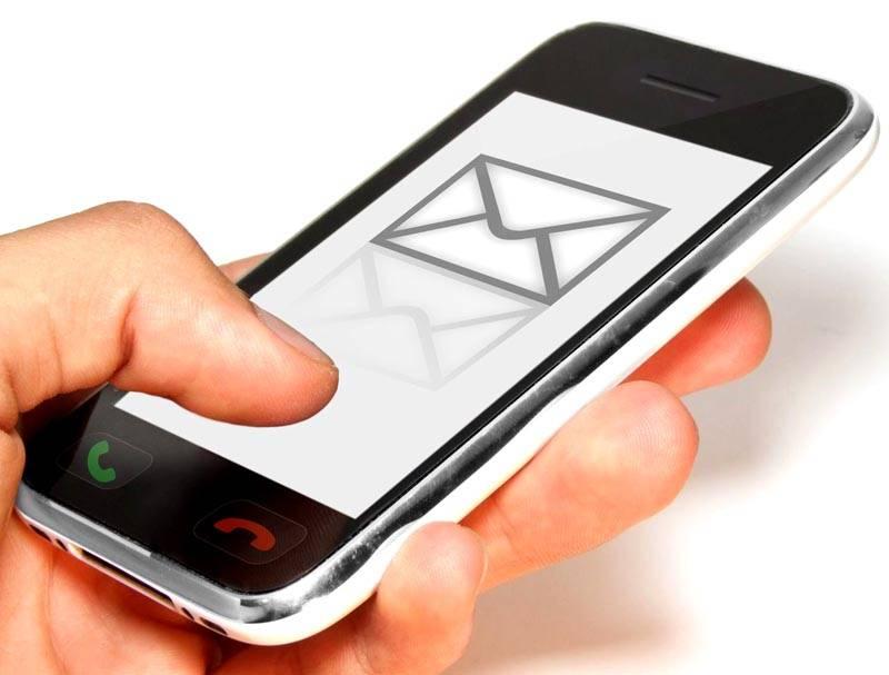 Отправляя СМС, главное ввести корректные данные