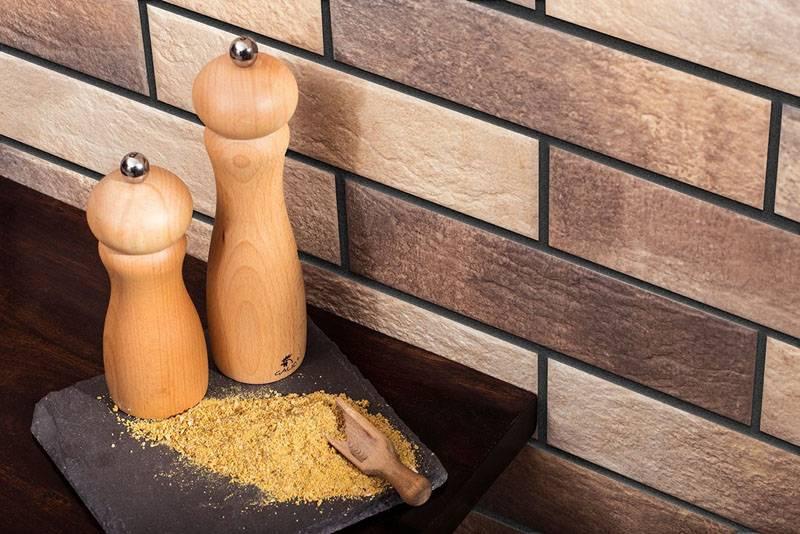 Клинкер можно использовать на кухне