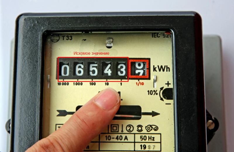 Передать показания счетчика за электроэнергию легко и просто