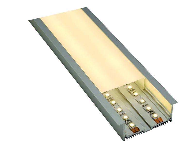 Для светодиодных лент выпускаются прозрачные короба