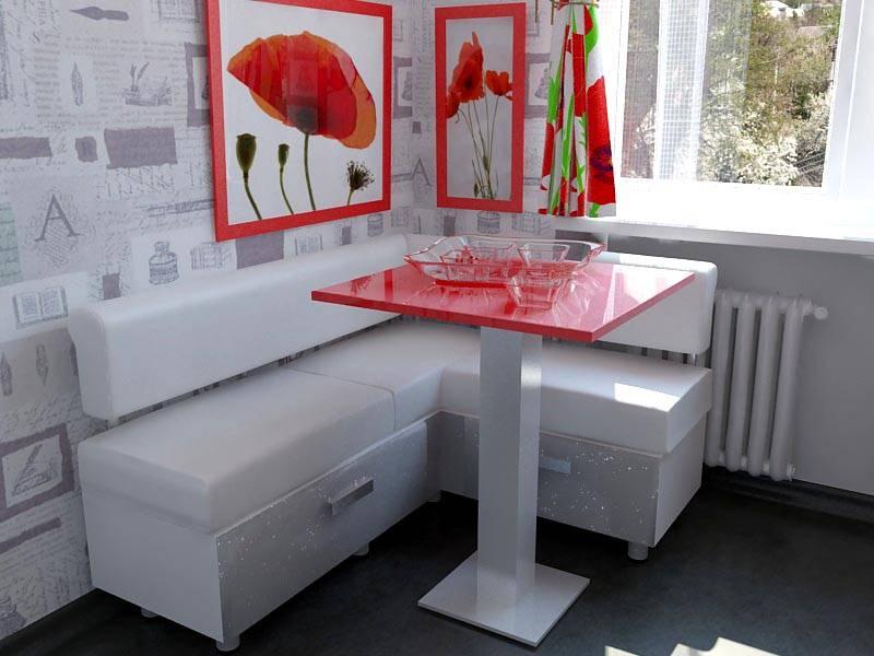 Кухонный уголок для маленькой кухни