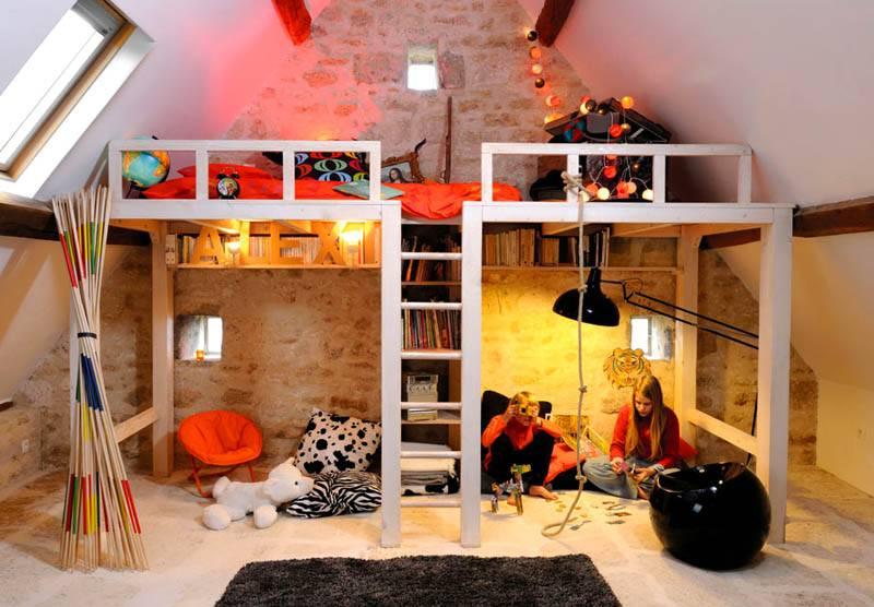 Переоборудование детской спальни в подростковую