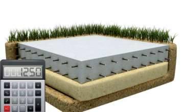 Калькулятор расчета количества гравийно-песчаной смеси для подушки фундамента