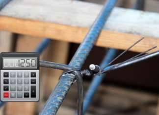 Калькулятор расчета количества вязальной проволоки для армирования ленточного фундамента